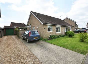 Thumbnail 2 bed semi-detached bungalow for sale in Broadfields Road, Gislingham, Eye