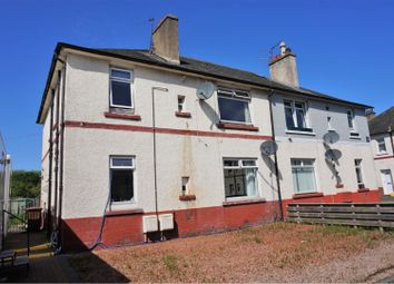 Thumbnail 2 bed flat for sale in Hayfield, Falkirk