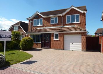 Thumbnail 4 bed detached house for sale in Asphodel Close, New Waltham, Grimsby