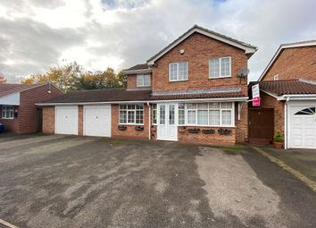 Thumbnail 4 bed detached house for sale in Lancaster Way, Strelley, Nottingham