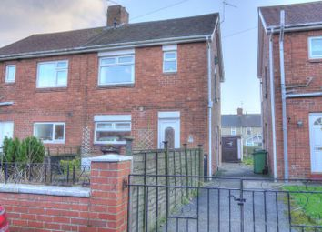 Thumbnail 2 bed semi-detached house for sale in Millfield North, Bedlington