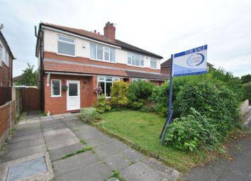 Thumbnail 3 bed semi-detached house for sale in Acton Avenue, Appleton, Warrington