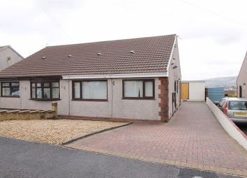 Thumbnail 2 bed semi-detached bungalow to rent in Clos Powys, Beddau