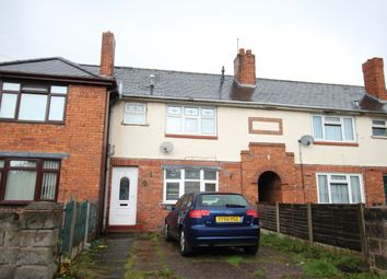 Thumbnail 3 bed terraced house to rent in Herberts Park Road, Wednesbury