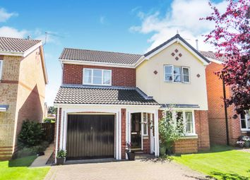 Thumbnail 4 bedroom detached house for sale in Rigby Close, Beverley