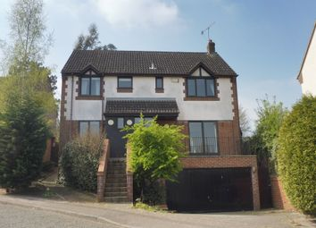 Thumbnail 4 bed detached house for sale in Grantham Crescent, Ipswich