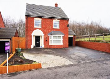 Thumbnail 5 bed detached house for sale in Calwich Close, Woodville, Swadlincote