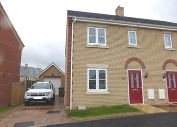 Thumbnail 3 bed semi-detached house for sale in Primrose Avenue, Downham Market