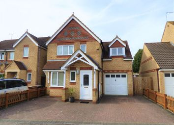 Thumbnail 3 bedroom detached house for sale in Flinters Close, Wootton, Northampton