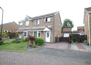 Thumbnail 3 bed semi-detached house to rent in Ashley Close, Killingworth, Newcastle Upon Tyne