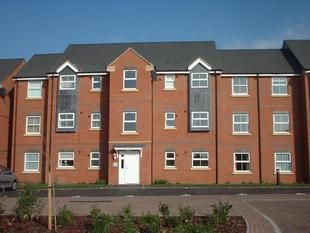 Thumbnail 2 bed flat to rent in Lime Tree Grove, Trinity Street, Loughborough