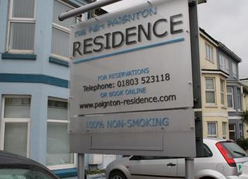 Thumbnail Hotel/guest house for sale in P&M Paignton Residence, 2 Kernou Road, Paignton, Devon