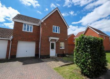 Thumbnail 3 bed link-detached house for sale in Roe Drive, Norwich