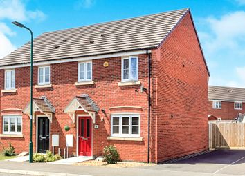 Thumbnail 3 bedroom semi-detached house for sale in Tempestes Way, Peterborough