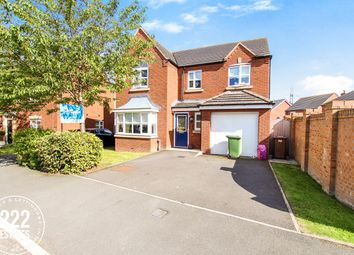 Thumbnail 4 bedroom detached house for sale in Haigh Close, St Helens