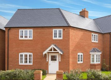 "Thumbnail 3 bedroom semi-detached house for sale in ""Faringdon"" at Halse Road, Brackley"