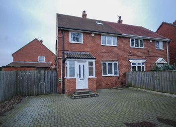 Thumbnail 3 bed semi-detached house for sale in Kirkwood Gardens, Gateshead