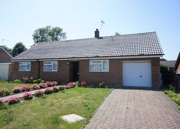 Thumbnail 3 bed detached bungalow for sale in Woodside, Beccles