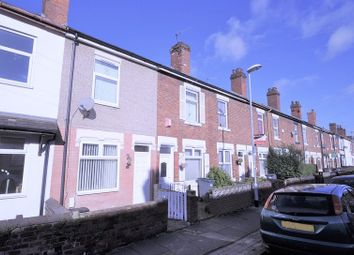 Thumbnail 2 bedroom terraced house for sale in Keary Street, Stoke-On-Trent, Staffordshire