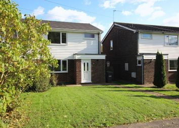 Thumbnail 3 bedroom semi-detached house to rent in Ermine Way, Sawtry, Huntingdon