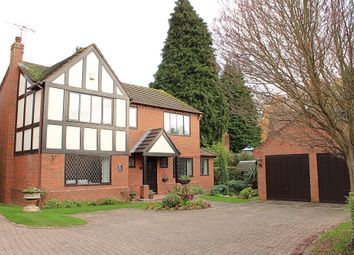 Thumbnail 4 bed detached house for sale in Draper Close, Kenilworth