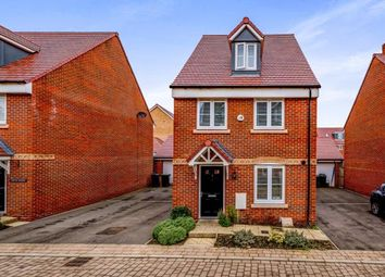 Thumbnail 4 bed detached house for sale in Bose Avenue, Biggleswade, Bedfordshire