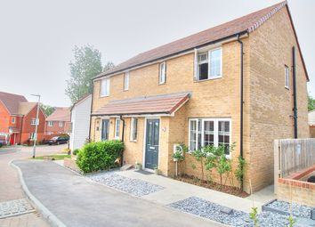 Thumbnail 3 bed semi-detached house for sale in Red Clover Close, Stone Cross, Pevensey