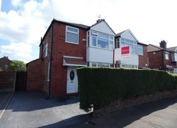 Thumbnail 3 bed semi-detached house for sale in Milton Road, Stretford, Manchester