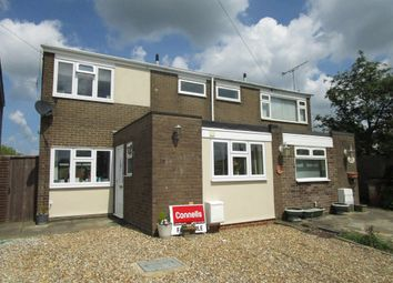 Thumbnail 3 bed semi-detached house for sale in Meadow Close, Welham Green, Hatfield