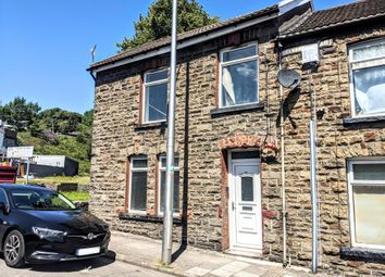 Thumbnail 4 bed end terrace house to rent in Clydach Road, Blaenclydach, Tonypandy