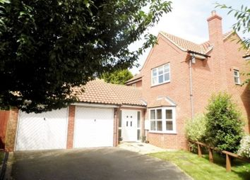 Thumbnail 4 bed detached house to rent in Highfield Mews, Great Gonerby, Grantham