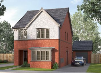"Thumbnail 4 bed detached house for sale in ""The Finsbury"" at Myton Green, Europa Way, Warwick"