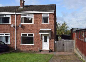 Thumbnail 3 bed semi-detached house to rent in Pennine Close, Tibshelf, Alfreton