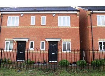 Thumbnail 2 bedroom semi-detached house to rent in Shropshire Close, Walsall