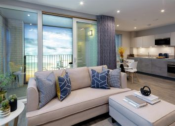 Thumbnail 2 bed flat for sale in Alma Road, Ponders End, Enfield