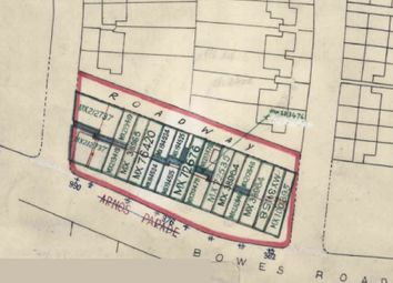 Thumbnail Land for sale in Bowes Road, Arnos Grove, London
