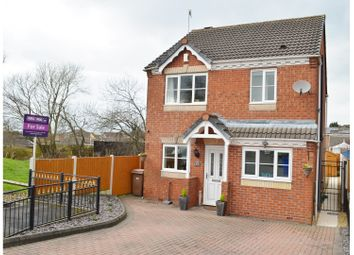 Thumbnail 3 bedroom detached house for sale in Waterdale Grove, Meir Hay, Stoke-On-Trent