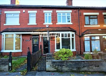 Thumbnail 2 bed terraced house to rent in Broadstone Hall Road South, Stockport