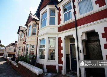 Thumbnail 5 bed terraced house for sale in Brithdir Street, Cathays, Cardiff