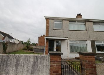 Thumbnail 3 bed semi-detached house to rent in Lisnoe Park, Lisburn
