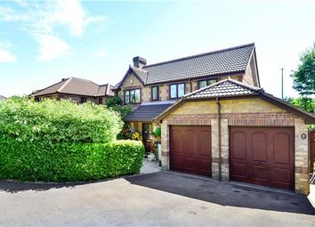 Thumbnail 4 bed detached house for sale in Underleaf Way, Peasedown St. John