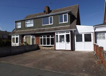 Thumbnail 3 bedroom semi-detached house for sale in Harlech Road, Willenhall, West Midlands