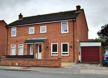 Thumbnail 3 bed semi-detached house for sale in Swain Court, Northallerton