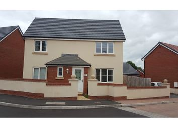 Thumbnail 4 bed detached house for sale in Rosa Way, Wilstock Village, Bridgwater