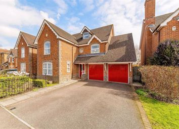 Thumbnail 5 bed detached house for sale in Burns Close, Carshalton