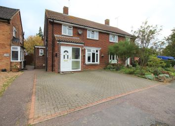 Thumbnail 3 bedroom semi-detached house for sale in Nutcroft, Datchworth