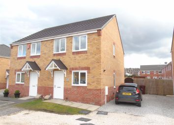 Thumbnail 3 bed semi-detached house to rent in Croft House Way, Bolsover, Chesterfield