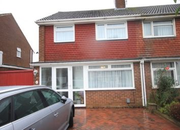 Thumbnail 3 bed semi-detached house to rent in Torquay Drive, Leagrave, Luton
