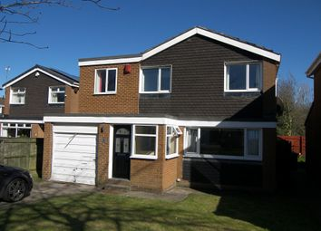 Thumbnail 4 bed detached house to rent in Windsor Court, Kingston Park, Newcastle Upon Tyne