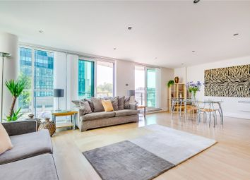 Thumbnail 2 bed flat for sale in Bridge House, 18 St. George Wharf, London